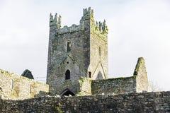 Jerpoint abbotskloster i Irland Arkivfoton