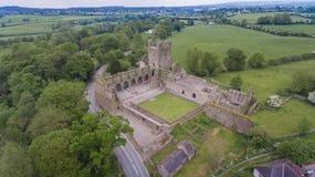 Jerpoint opactwo Thomastown, okręg administracyjny Kilkenny, Irlandia zdjęcia royalty free