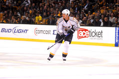 Jerred Smithson Nashville Predators. Nashville Predators forward Jerred Smithson #25 Royalty Free Stock Images