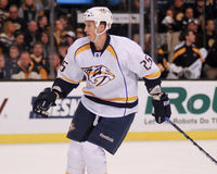 Jerred Smithson Nashville Predators. Nashville Predators forward Jerred Smithson #25 Stock Photo
