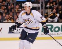 Jerred Smithson Nashville Predators. Nashville Predators forward Jerred Smithson #25 Stock Photo