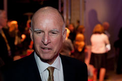 Jerry Brown Royalty Free Stock Photo