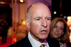 Jerry Brown Stock Foto