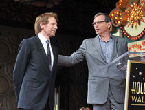 Jerry Bruckheimer & Bob Iger Stock Images