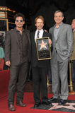 Jerry Bruckheimer & Johnny Depp & Bob Iger Royalty Free Stock Image