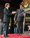 Jerry Bruckheimer & Johnny Depp Royalty Free Stock Photo