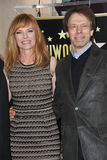 Jerry Bruckheimer, Marg Helgenberger Royalty Free Stock Photography
