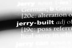 jerry construida imágenes de archivo libres de regalías