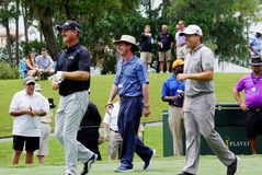 Jerry Kelly and Erik Compton Stock Photography
