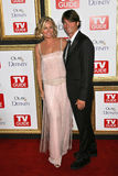 Jerry O'Connell, Rebecca Romijn Royalty Free Stock Photography