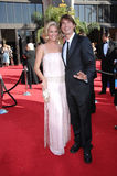 Jerry O'Connell,Rebecca Romijn Stock Images