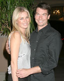 Jerry O'Connell,Rebecca Romijn,RITZ CARLTON Stock Photo