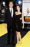 Jerry Seinfeld e Jessica Seinfeld fotografia de stock