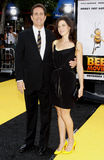 Jerry Seinfeld en Jessica Seinfeld stock fotografie