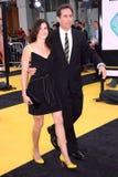 Jerry Seinfeld, Jessica Seinfeld stockbild