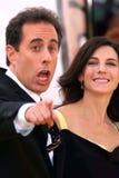 Jerry Seinfeld, Jessica Seinfeld lizenzfreie stockbilder