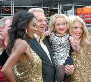 Jerry Springer in Times Square. Royalty Free Stock Photos