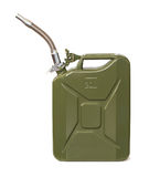Jerrycan with flexi pipe spout Royalty Free Stock Images