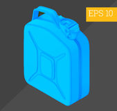 Jerrycan isometric vector illustration Royalty Free Stock Photography