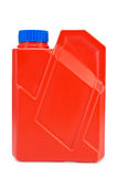 Jerrycan red Stock Photo