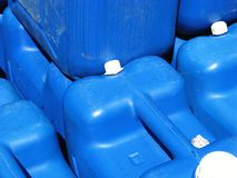 Jerrycans Royalty Free Stock Image