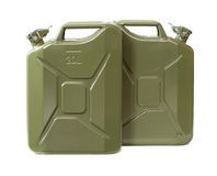 Jerrycans Stock Photo