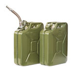 Jerrycans Stock Photos