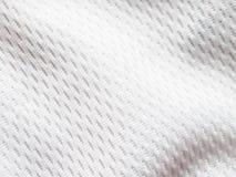 Белый jersey Стоковое фото RF