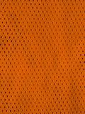 Jersey anaranjado Foto de archivo libre de regalías