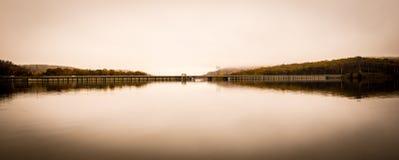 Jersey-Brücke Stockfotos