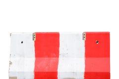 Jersey cement barrier Stock Photos