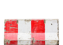 Jersey cement barrier Royalty Free Stock Image