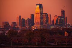 Jersey City in New Jersey Stock Images