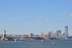 Jersey City in New Jersey, USA Stock Photo