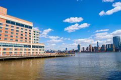 Jersey City. NJ - CIRCA MARCH, 2016:  at daytime.  is the second most populous city in the U.S. state of New Jersey after Newark stock photography