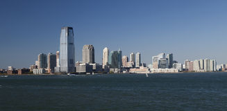 Jersey City panorama Royalty Free Stock Photography