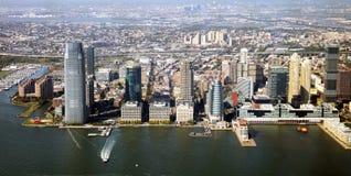 Jersey City panorama Royalty Free Stock Photo