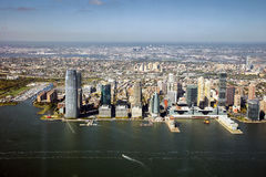 Jersey City panorama Stock Photography