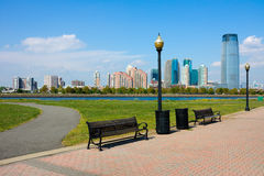 Jersey City Skyline Royalty Free Stock Image