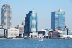 Jersey city skyline Stock Photography