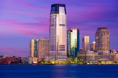 Jersey City Skyline Stock Image