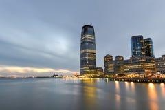 Jersey City Skyline Royalty Free Stock Photos
