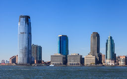 Jersey City Waterfront Stock Image