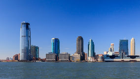 Jersey City Waterfront Stock Photo