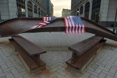 Jersey City, WTC-Denkmal Lizenzfreies Stockbild