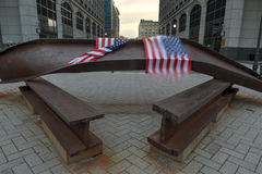 Jersey City, WTC Memorial Royalty Free Stock Image