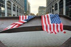 Jersey City WTC-minnesmärke Royaltyfria Foton