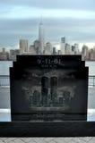 Jersey City WTC-minnesmärke Arkivfoton