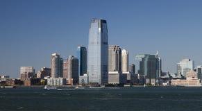 Jersey Citypanorama Lizenzfreies Stockbild