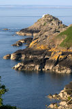 Jersey coastline Royalty Free Stock Photography